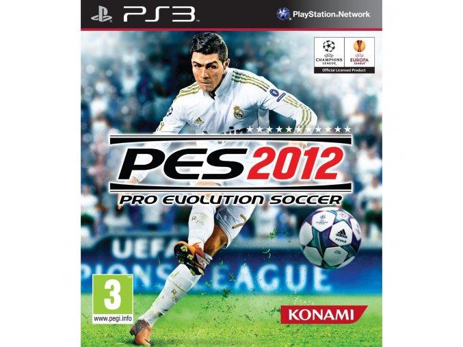 PS3 Pro Evolution Soccer 2012