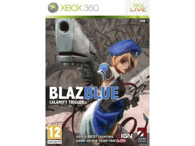 Xbox 360 BlazBlue: Calamity Trigger