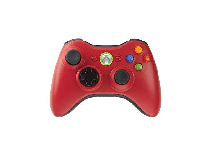 Microsoft Xbox 360 Wireless Controller Red
