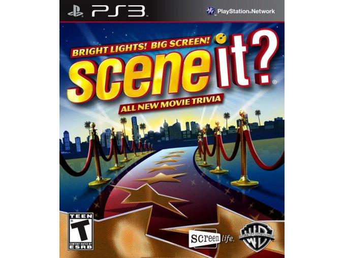 PS3 Scene It! Bright Lights Big Screen