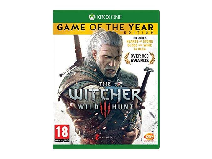Xbox One Zaklínač 3: Divoký hon - GOTY edition CZ