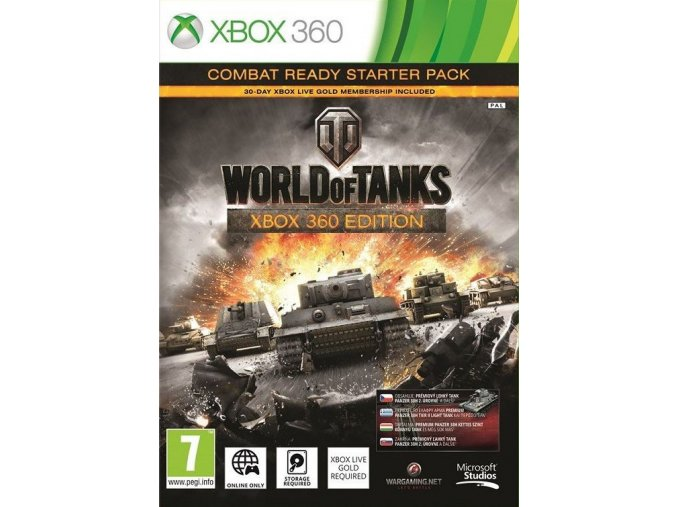 Xbox 360 World of Tanks Combat Ready Starter Pack