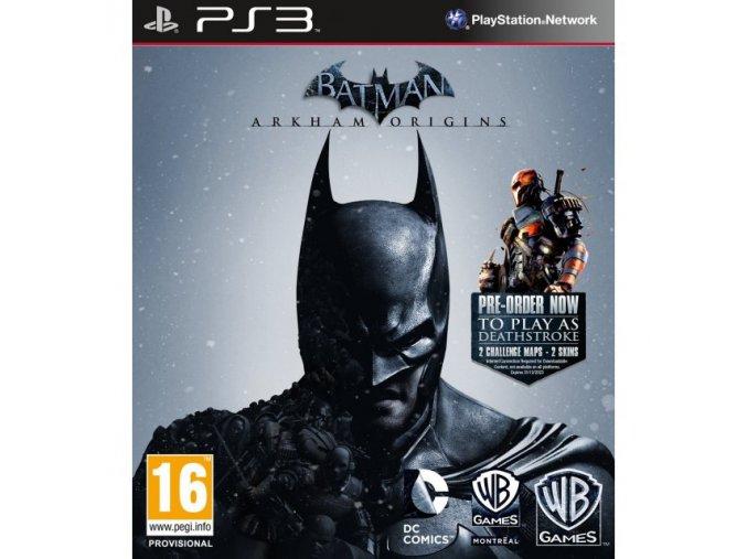 PS3 Batman: Arkham Origins