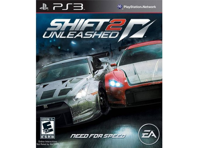 PS3 Need for Speed Shift 2: Unleashed