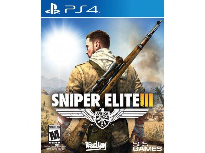 PS4 Sniper Elite 3