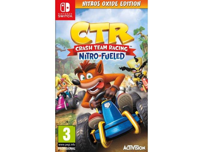 Nintendo Switch Crash Team Racing: Nitro Fueled - Nitos Oxide Edition
