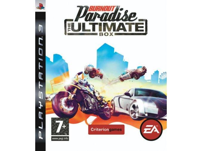 ps3 burnout paradise the ultimate box nova