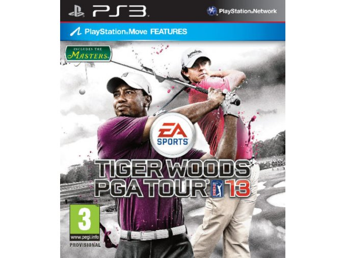PS3 Tiger Woods PGA Tour 13