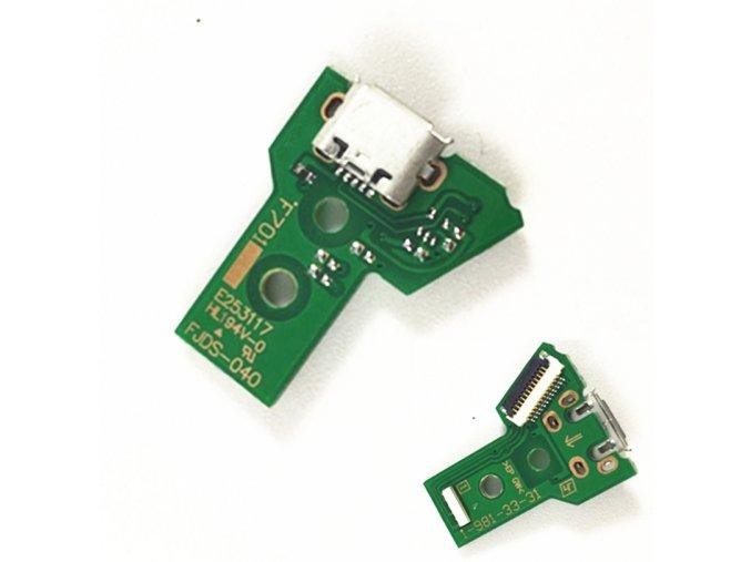 Nabíjecí port JDS-040 pro PS4 ovladač