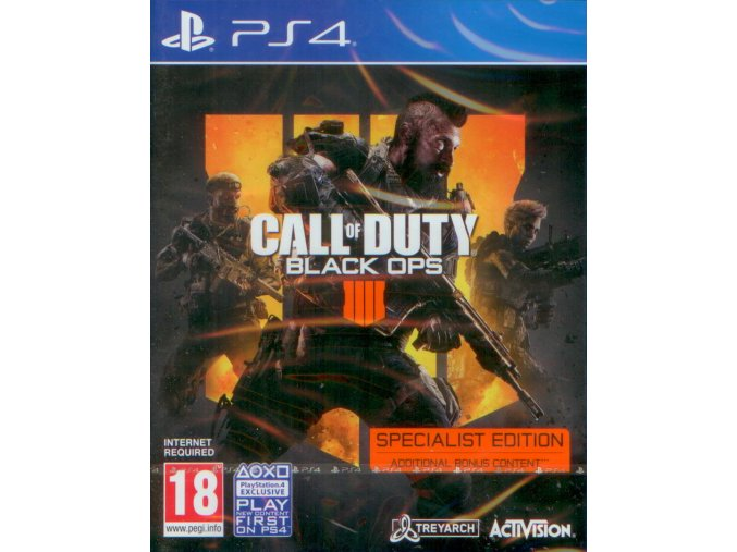 PS4 Call of Duty: Black Ops 4 (Specialist Edition)