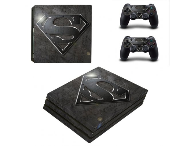 PS4 Pro Polep Skin Superman