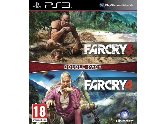 PS3 Far Cry 3 + Far Cry 4 (Double Pack)