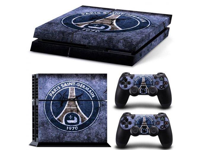 PS4 Polep Skin Paris Saint-Germain FC