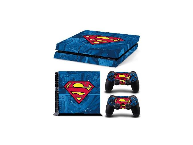PS4 Polep Skin Superman
