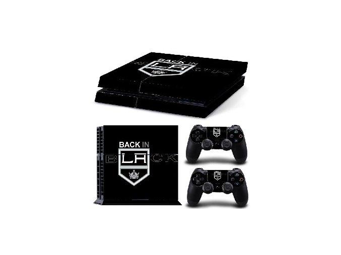 PS4 Polep Skin Los Angeles Kings