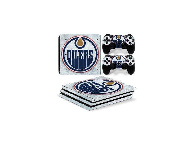 PS4 Pro Polep Skin NHL - Edmonton Oilers