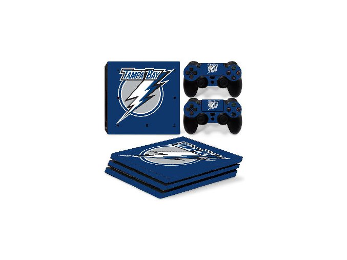 PS4 Pro Polep Skin NHL - Tampa Bay Lightning