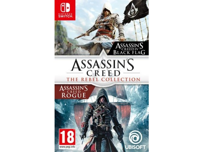 Nintendo Switch Assassins Creed: The Rebel Collection