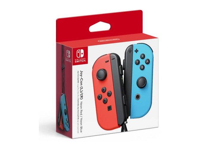 Nintendo Switch Joy-Con Pair Neon Red/Neon Blue