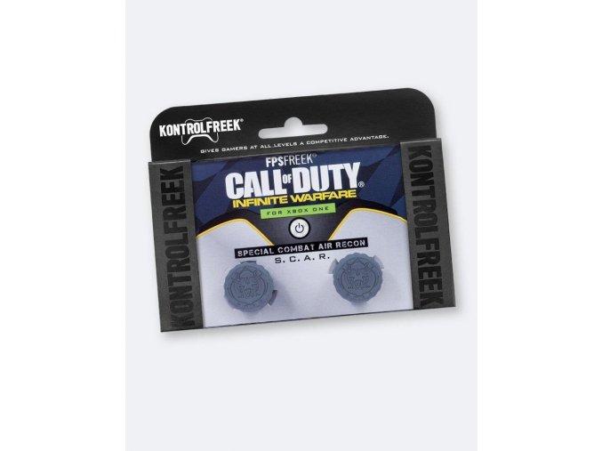 KontrolFreek Násady na analogové páčky pro Xbox One - CoD: Infinite Warfare edice, 2 ks