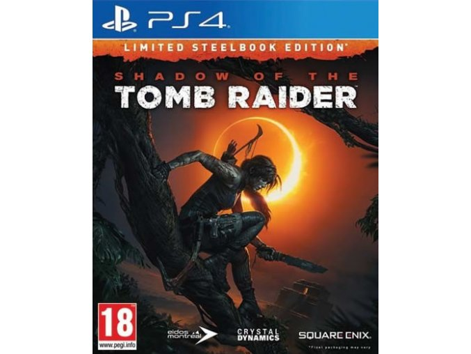 PS4 Shadow of the Tomb Raider Steelbook Edition