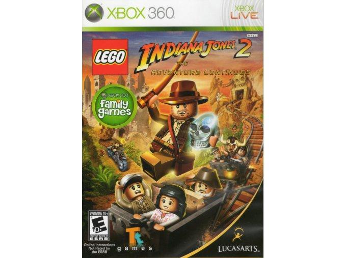 Xbox 360 LEGO Indiana Jones 2: The Adventure Continues