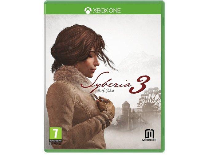 Xbox One Syberia 3 CZ