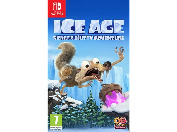 Nintendo Switch Ice Age Scrats Nutty Adventure