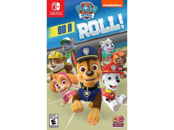 Nintendo Switch Paw Patrol On A Roll