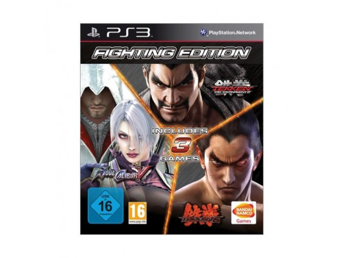 PS3 Fighting Edition: Tekken 6 & Tekken Tag Tournament 2 & SoulCalibur 5