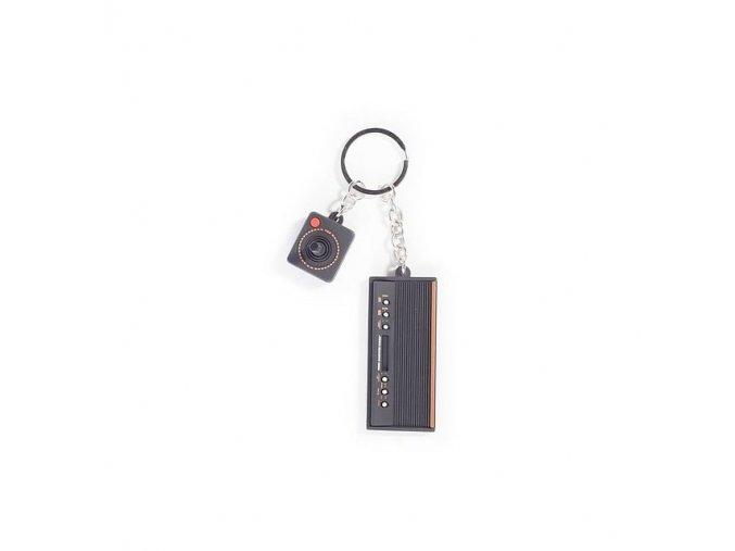 Klíčenka Atari 3D Console & Joystick