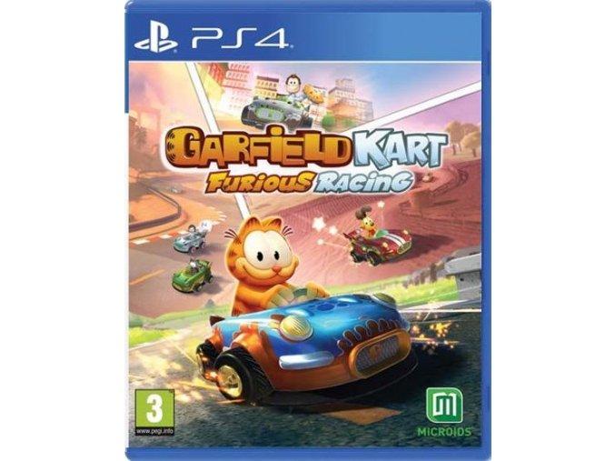 PS4 Garfield Kart Furious Racing