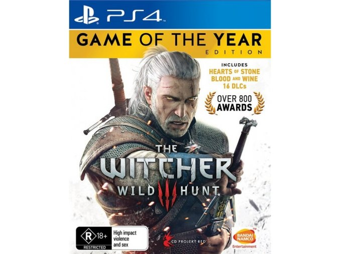 PS4 The Witcher 3: Wild Hunt - GOTY Edition