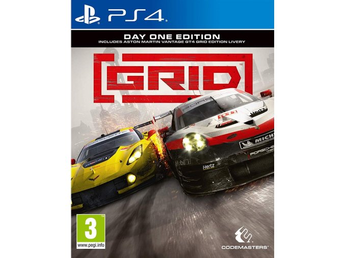 PS4 Grid: Day One Edition