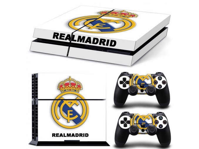 PS4 Polep Skin Real Madrid CF