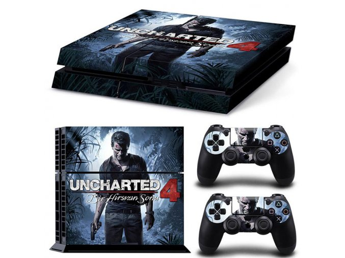 PS4 Polep Skin Uncharted 4