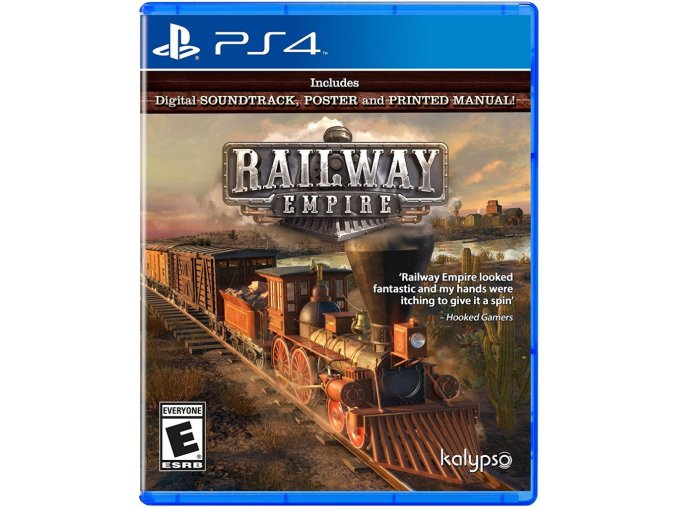 PS4 Railway Empire Day One Edition