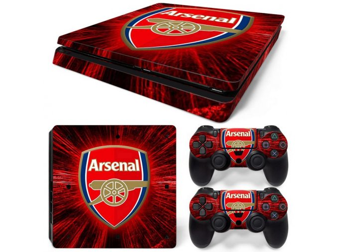 PS4 Slim Polep Skin Arsenal