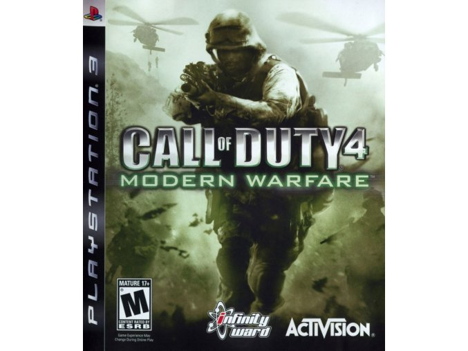 PS3 Call of Duty 4: Modern Warfare GOTY