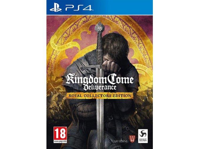 PS4 Kingdom Come Deliverance Royal Collector's Edition
