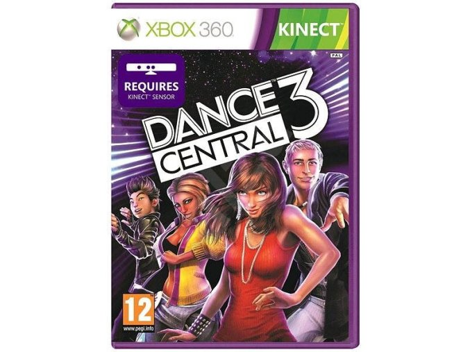 Xbox 360 Dance Central 3 (Kinect)