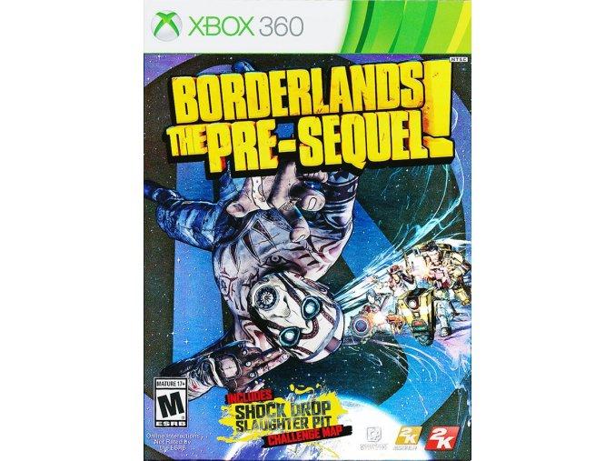 Xbox 360 Borderlands: The Pre-Sequel!