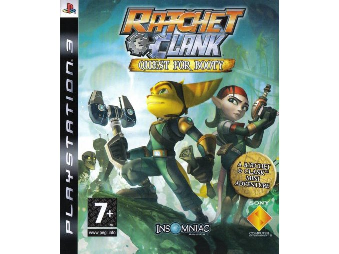 PS3 Ratchet and Clank: Quest for Booty