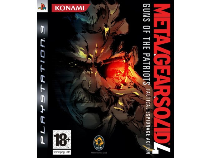 PS3 Metal Gear Solid 4: Guns of the Patriots