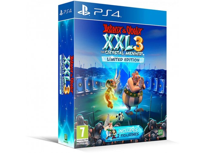 PS4 Asterix & Obelix XXL 3 The Crystal Menhir (Limited Edition)