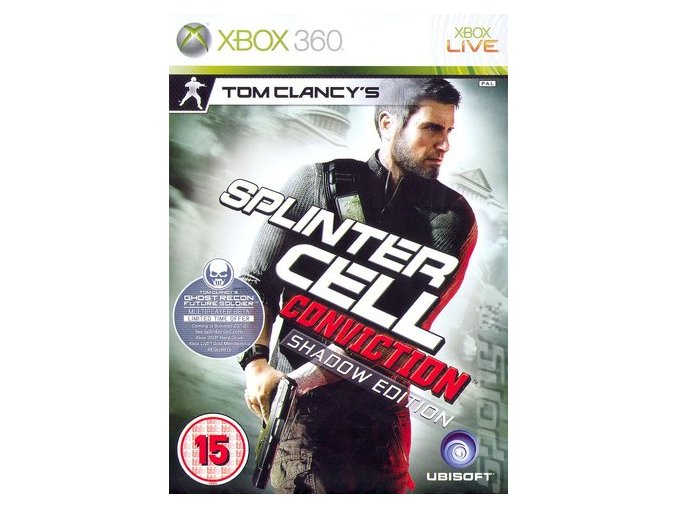 Xbox 360 Tom Clancy's Splinter Cell: Conviction