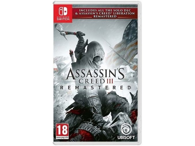 Nintendo Switch Assassins Creed 3 Remastered