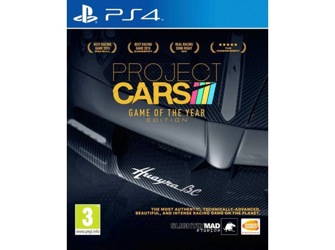 PS4 Project Cars GOTY Editon