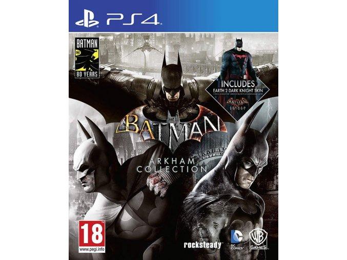 PS4 Batman: Arkham Collection