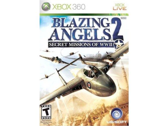 Xbox 360 Blazing Angels 2:Secret Missions of WWII